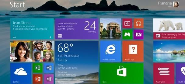 Windows 8.1'den ilk haberler
