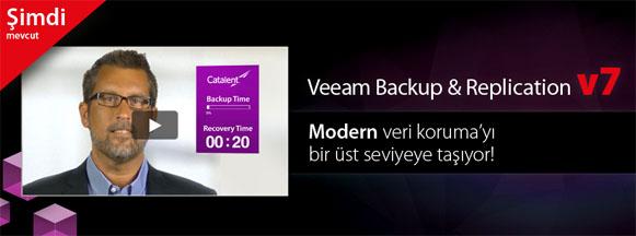 Beklenen oldu ve sonunda Veeam Backup & Replication V7 çıktı..!