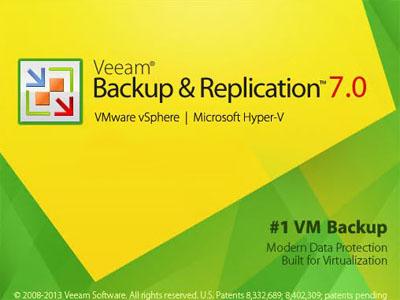 Veeam Backup & Replication v7 sürümündeki yenilikler