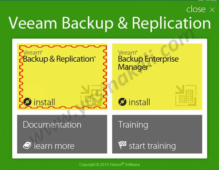 Veeam Backup Replication 7 ile Restore İşlemleri – Farkli Host – Farkli Data Store