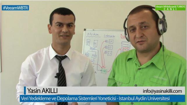 17 Haziran 2014 te Veeam Türkiye Ofisinde Canlı Web sunumu ile sizlerle olduk...