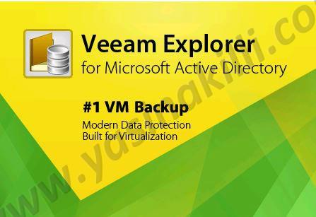 Active Directory Üzerinde Silinen Kullanıcı ve Grupların Veeam Explorer For Active Directory ile Kurtarılması