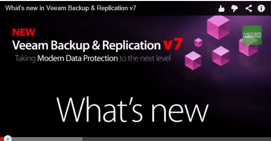 What's New in Veeam Backup & Replication Version 7 ?