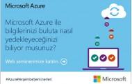 Microsoft Azure ile buluta yedekleme - Webcast
