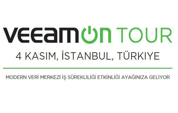 VeeamON Tour 2015 Türkiye - Etkinliği için hazır mısınız ?