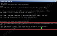 ssh ile vm support log larının datastore içerisine oluşturulması