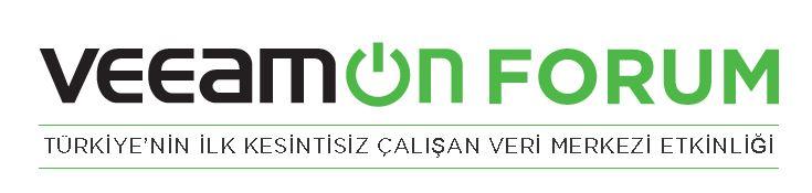 VeeamON Forum 2016 Türkiye !