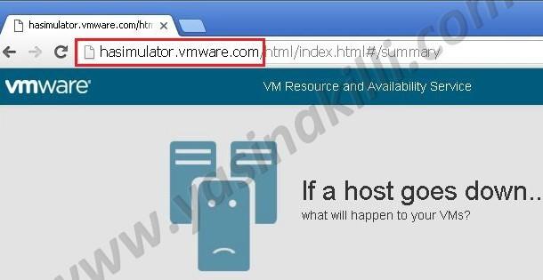 VMware HA Simulatör ile vSphere HA Admission Control Kaynak Planlama