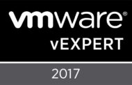 vExpert 2017 has been announced !