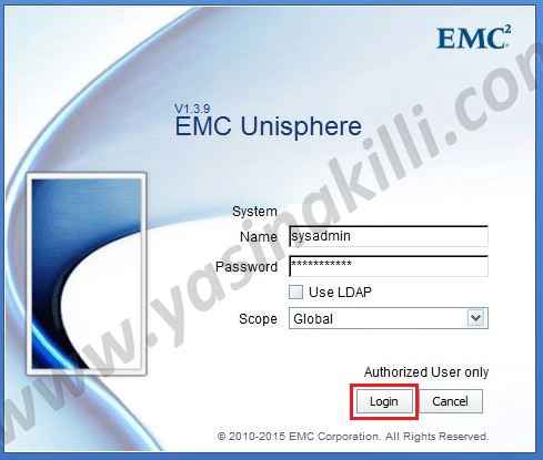 How to collect SP Log from VNX Storage