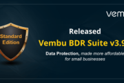 Vembu BDR Suite v3.9.1 GA Released !