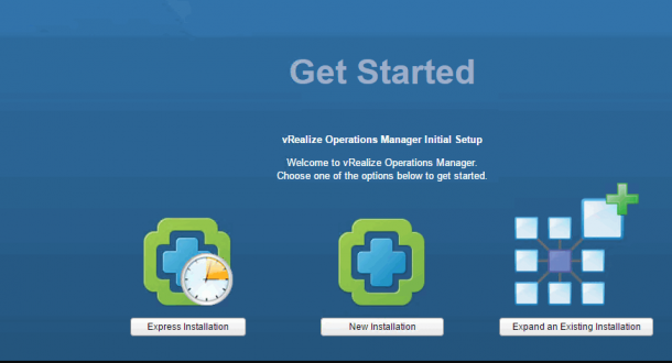 how to vRealize Operations Install