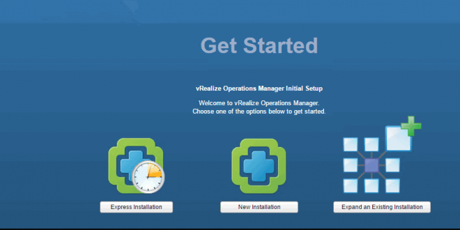 vm workload management with vRealize Operations Manager