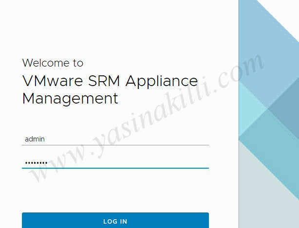 VMware SRM Appliance Management