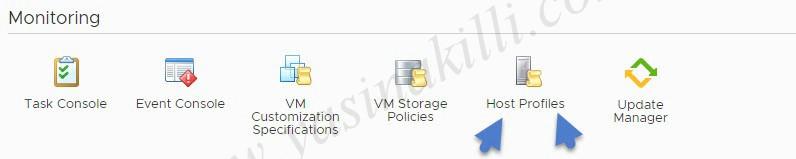How to create Host Profile for VMware vSphere 6.7.