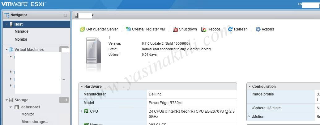 VMware ESXI 6.7 U1 Update To ESXI 6.7 U2